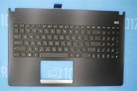 Клавиатура для ноутбука Asus X501 черная с топкейсом