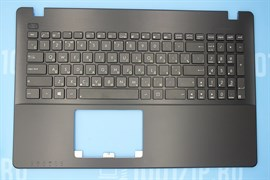 Клавиатура для ноутбука Asus X550 черная с топкейсом