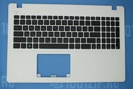 Клавиатура для ноутбука Asus X550 с белым топкейсом