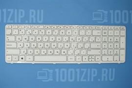 Клавиатура для ноутбука HP 15-e, 15-g, 15-n белая с рамкой