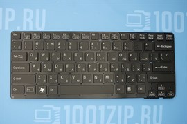 Клавиатура для ноутбука Sony VPC-CA, VPC-SA черная без рамки
