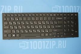 Клавиатура для ноутбука Sony VPC-EB черная с черной рамкой