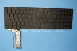 Клавиатура для ноутбука Asus G551, G551JK, G551JX, N551, черная с подсветкой