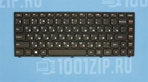 Клавиатура для ноутбука Lenovo Yoga 13 черная с рамкой