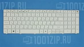 Клавиатура для ноутбука Packard Bell TM81, TM85, TM86, TM87, белая