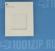"""Зарядка для ноутбука Apple (A1718) 61W USB Type-C, высокая копия с логотипом, без Type-C кабели"""""""
