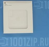 """Зарядка для ноутбука Apple (A1719) 87W USB Type-C, высокая копия с логотипом, без Type-C кабели"""""""