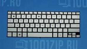 Клавиатура для ноутбука Asus UX21,UX21A, UX21E серебристая
