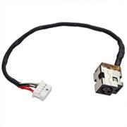 Разъем питания для HP DV6-3000 DV7-4000 DV7T-4000 с кабелем 10pin