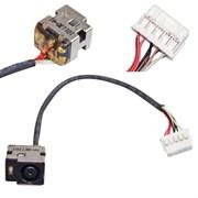 Разъем питания для HP Pavilion DV6-3000 с кабелем 10pin 11см