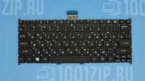 Клавиатура для ноутбука Acer Aspire S3, S5, One 756, TravelMate B1 V5-122P, черная
