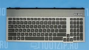 Клавиатура для ноутбука Asus G55, G55VW с подсветкой с рамкой