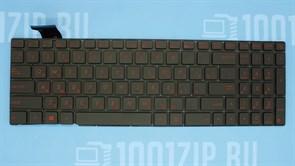 Клавиатура для ноутбука Asus G771, N551, GL552VW, GL552VL, черная с подсветкой