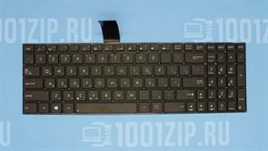 Клавиатура для ноутбука Asus K56, K56C, K550D, X550LC, X550VC черная без рамки