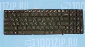 Клавиатура для ноутбука Asus U56, U53S, U53SD черная без рамки