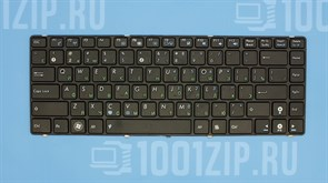 Клавиатура для ноутбука Asus A42, K42, UL30, X44HY, X44L, X44LY черная c рамкой