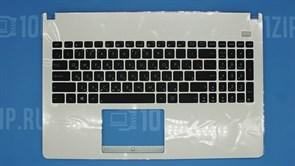 Клавиатура для ноутбука Asus X501 белая с топкейсом