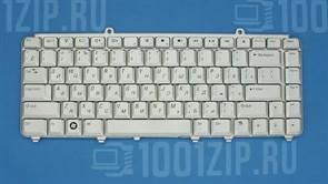 Клавиатура для ноутбука Dell 1420, 1520, 1525 серебристая