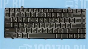 Клавиатура для ноутбука Dell M11X R2, M11X R3 черная с подсветкой