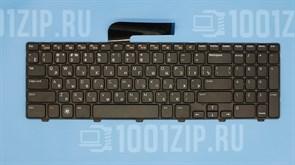 Клавиатура для ноутбука Dell N5110, M5110, M511R черная с рамкой