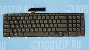 Клавиатура для ноутбука Dell N7110, 3350, L702x черная с рамкой