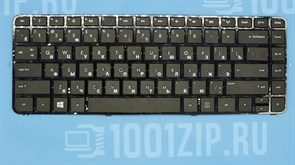 Клавиатура для ноутбука HP G4-2000 черная с рамкой