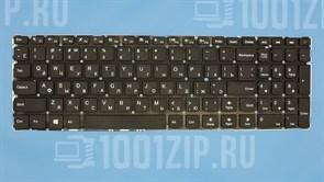 Клавиатура для ноутбука Lenovo IdeaPad 310-15ISK, 110-15IBR черная без рамки