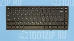 Клавиатура для ноутбука Lenovo Flex 14, G400s, G405s черная черной с рамкой