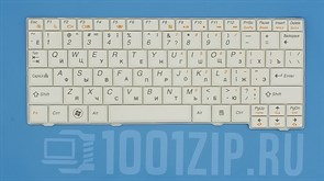 Клавиатура для ноутбука Lenovo S10-2, S10-3C, S11 белая