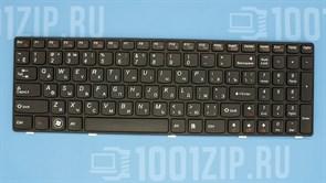 Клавиатура для ноутбука Lenovo Y570, Y570P черная с рамкой