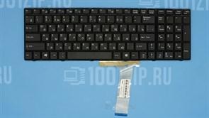 Клавиатура для ноутбука MSI A6200, CR620, CX620 черная с рамкой
