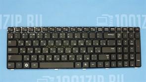 Клавиатура для ноутбука Samsung R578, R580, R590 черная с рамкой