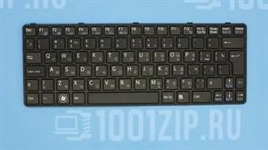 Клавиатура для ноутбука Sony SVE11 черная c рамкой