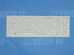 Клавиатура для ноутбука Sony VPC-EL белая с рамкой