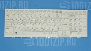 Клавиатура для ноутбука Sony VPC-EE белая с рамкой