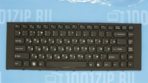 Клавиатура для ноутбука Sony VPC-EA черная с рамкой