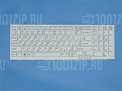 Клавиатура для ноутбука Sony VPC-EH белая с рамкой
