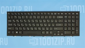 Клавиатура для ноутбука Sony VPC-EH черная с рамкой