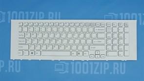 Клавиатура для ноутбука Sony VPC-EJ белая с рамкой