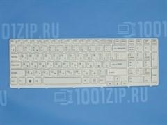 Клавиатура для ноутбука Sony SVE15, SVE17 белая с белой рамкой
