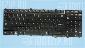 Клавиатура для ноутбука Toshiba A500, L500, P300 черная
