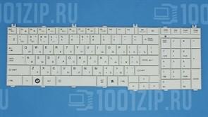 Клавиатура для ноутбука Toshiba C650, C660, L650 белая