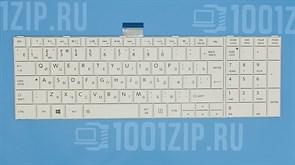 Клавиатура для ноутбука Toshiba C850, L850, P850 белая