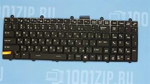 Клавиатура для ноутбука MSI GE60, GE70 черная с рамкой, с подсветкой