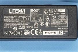 Зарядка для ноутбука Acer 19V 2,15A (40W) 5,5x1,7мм