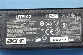 Зарядка для ноутбука Acer 19V 3,42A (65W) 3,0x1,0 мм