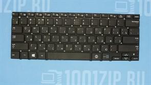 Клавиатура для ноутбука Samsung NP530U3B, NP530U3C, NP535U3C черная без рамки