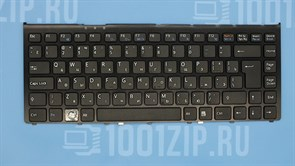Клавиатура для ноутбука Sony VGN-FW черная с рамкой