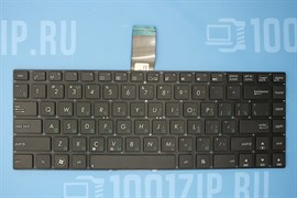 Клавиатура для ноутбука Asus K45, U37, U47, X45, X45A, черная без рамки