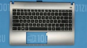 Топкейс с клавиатурой для ноутбука Asus U47A, с подсветкой